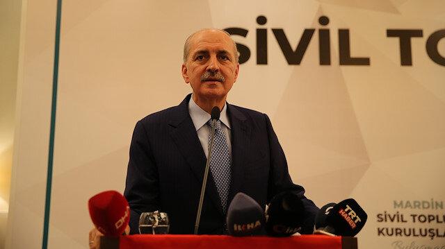 AK Parti Genel Başkanvekili Kurtulmuş: Terör örgütlerine silah verilmesin iki hafta sonra hiçbiri kalmaz