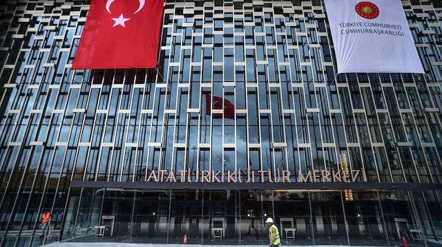 Sayılı günler kaldı: Atatürk Kültür Merkezi'nin son hali görüntülendi