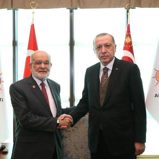 Sürpriz görüşme: Cumhurbaşkanı Erdoğan ve Temel Karamollaoğlu bir araya gelecek