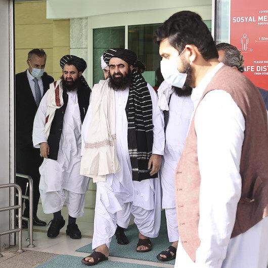 Taliban heyeti Ankarada