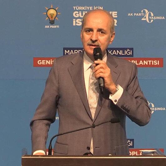 AK Parti Genel Başkanvekili Kurtulmuş: Türkiyede siyasi cinayetler devri geride kalmıştır
