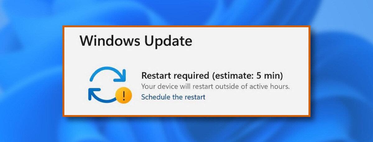 Windows Update üzerinden yeni güncelleme kolayca yüklenebiliyor.