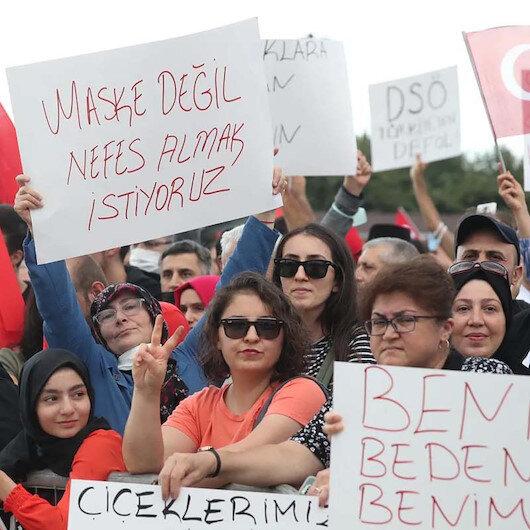 Aşı karşıtlarının son durağı İzmir: Miting yapmak için hazırlanıyorlar