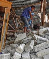 Bali Adasında deprem