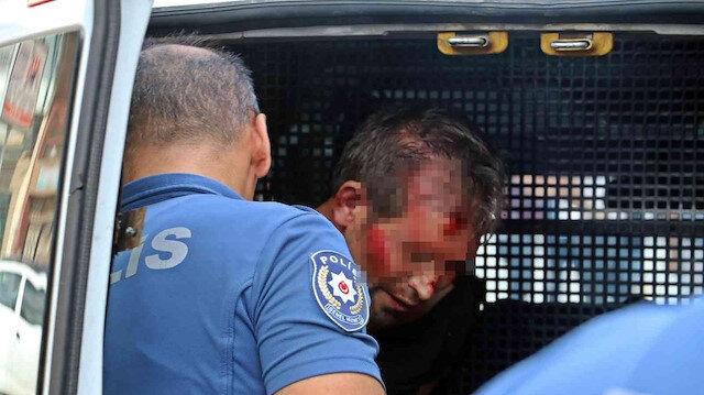 Kayınbiraderini bıçaklayan enişteye vatandaştan linç girişimi