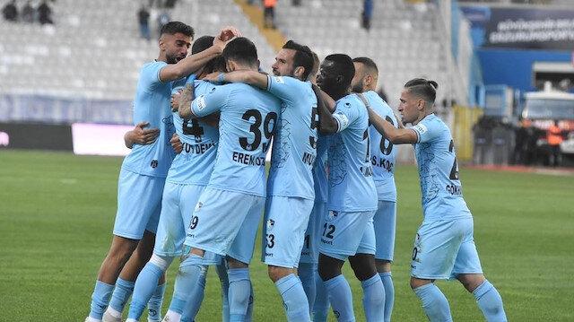 TFF 1. Lig ekibinden gol yağmuru