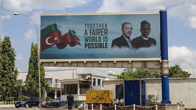 Cumhurbaşkanı Erdoğan Nijerya'da heyecanla bekleniyor