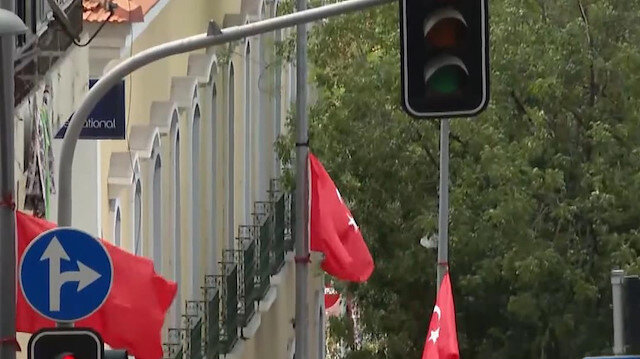 Angola'da Cumhurbaşkanı Erdoğan heyecanı: Sokaklara Türk bayrakları asıldı