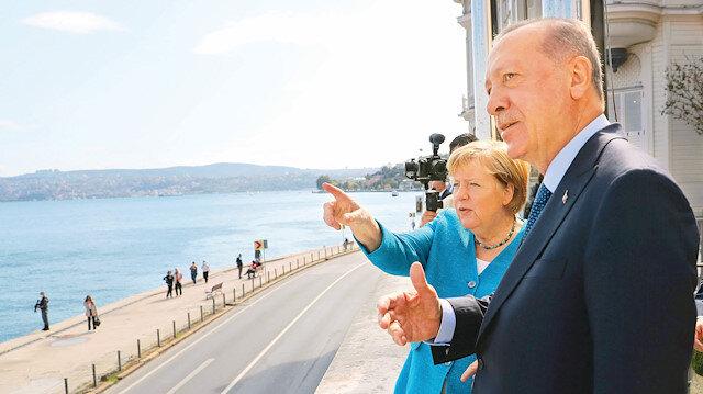 Boğaz'da başkanlık sohbeti