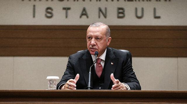 Cumhurbaşkanı Erdoğan'dan F-16 açıklaması: ABD yaptığımız ödemeye karşılık teklif etti