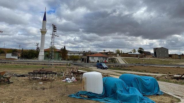 Afyonkarahisar'da toprağa gömülü ceset parçaları bulundu