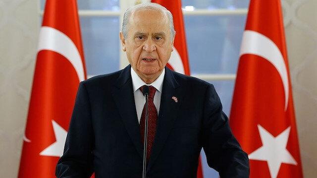 MHP Genel Başkanı Bahçeli'den Özdemir Bayraktar için başsağlığı mesajı