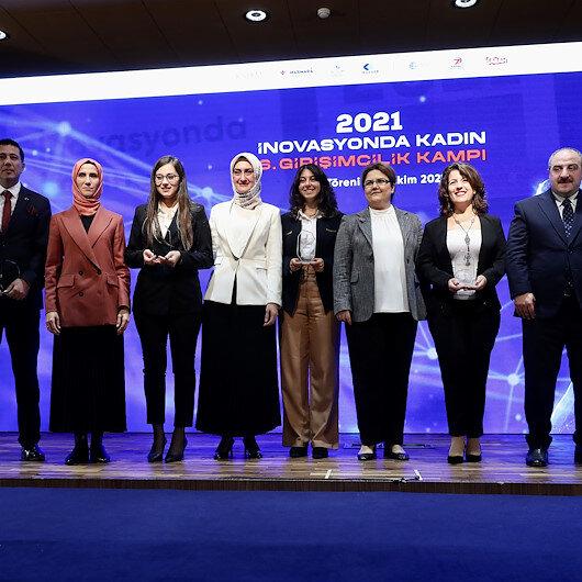 KADEM İnovasyonda Kadın 6. Girişimcilik Kampı'nda ödüller dağıtıldı