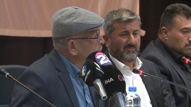 Şehit Ömer Halisdemir'in babası oğlunu anlatırken gözyaşlarını tutamadı