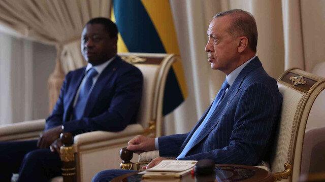 Cumhurbaşkanı Erdoğan'dan Togo'da FETÖ mesajı: Mücadelemize verdikleri destek takdire şayan