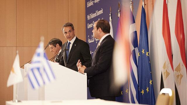Yunanistan, Mısır ve GKRY'den Türkiye'ye karşı skandal bildiri