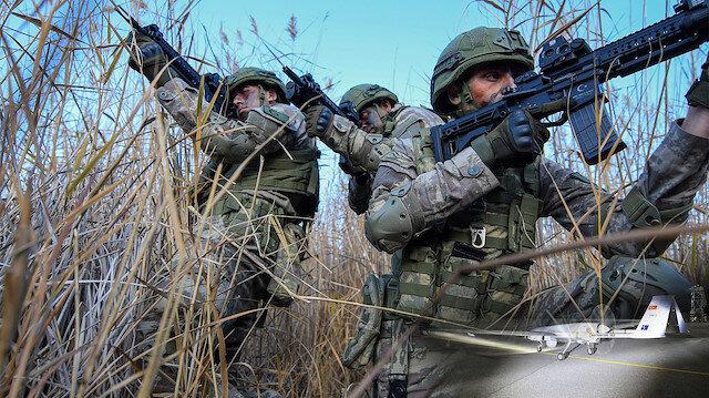 MSB: Pençe Kaplan bölgesinde 2 PKK'lı terörist etkisiz
