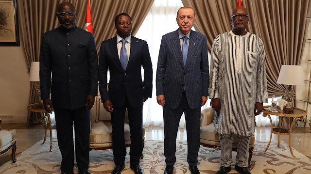 Afrika'daki dörtlü zirveden bildiri: Terörle mücadelede iş birliği çağrısı