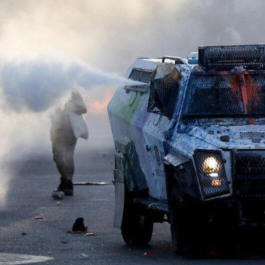 مواجهات بين الشرطة ومتظاهرين في الذكرى الثانية لاحتجاجات تشيلي