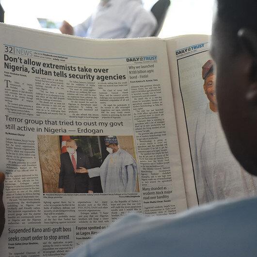 أصداء واسعة لزيارة أردوغان في وسائل الإعلام النيجيرية