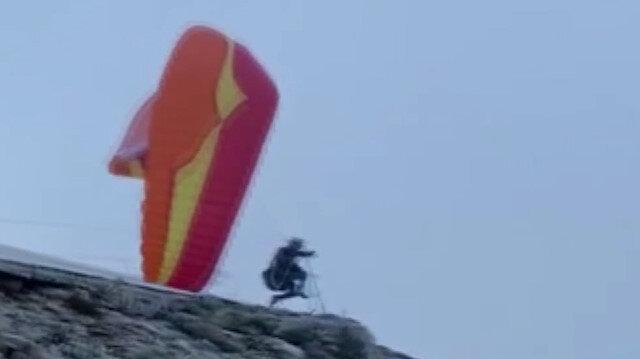 Ölüdeniz Hava Oyunları Festivali'nde yaşanan paraşüt kazaları yürekleri ağza getirdi