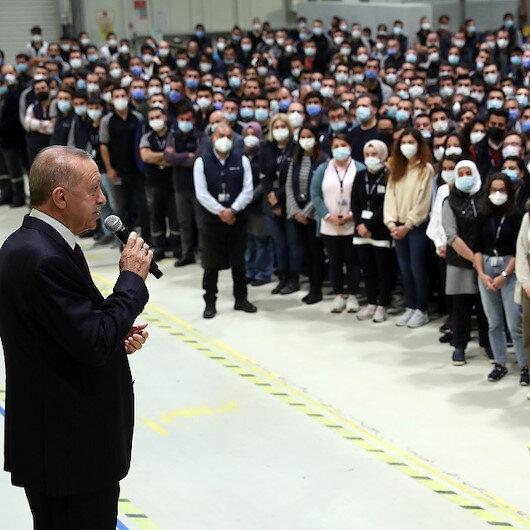 أردوغان يزور مقر شركة بايكار التركية للصناعات الدفاعية