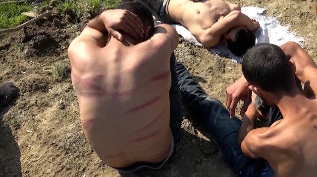 Yunanistan para ve kıyafetlerini aldığı göçmenleri dövüp Türkiye'ye itti