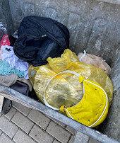 Çöpte bulundu: Polis harekete geçti