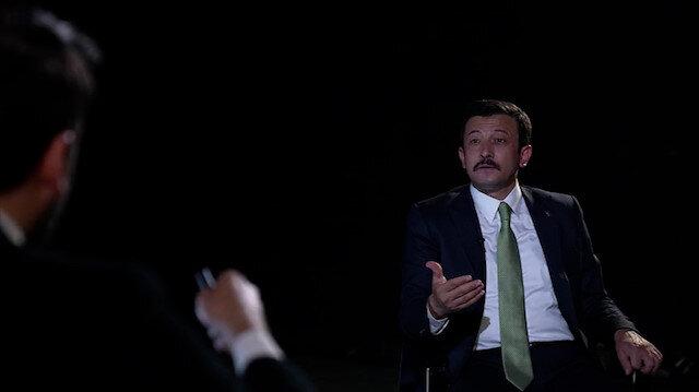 Hamza Dağ 'AK Parti içinde sistem tartışması var mı?' sorusunu yanıtladı