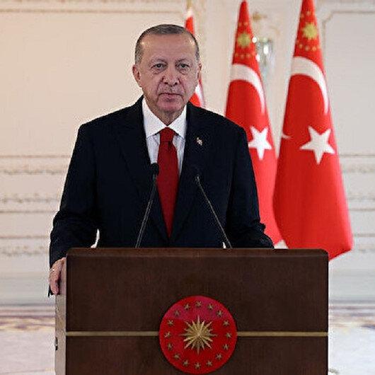 أردوغان: أربكان ساهم في ممارسة المسلمين للسياسة المدنية الديمقراطية