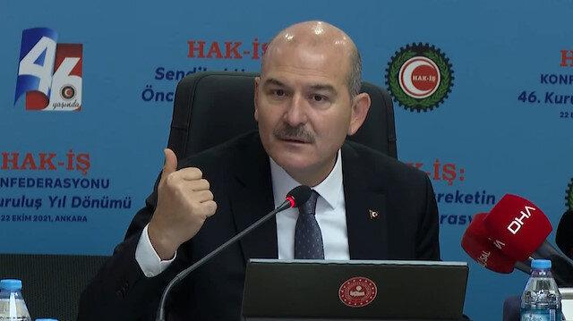 Bakan Soylu'dan 'gri liste'ye imalı tepki: Eksiğimiz Osman Kavala'yı, Demirtaş'ı serbest bırakmamak