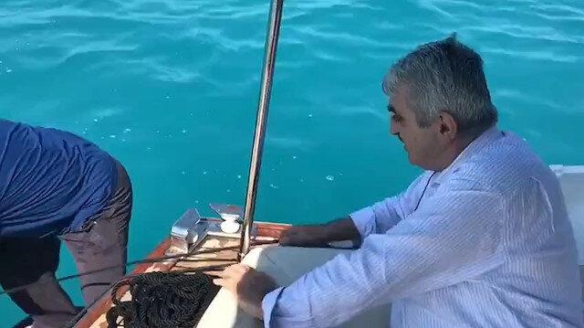 Selçuk Bayraktar amcası ile babası Özdemir Bayraktar'ın videosunu paylaştı