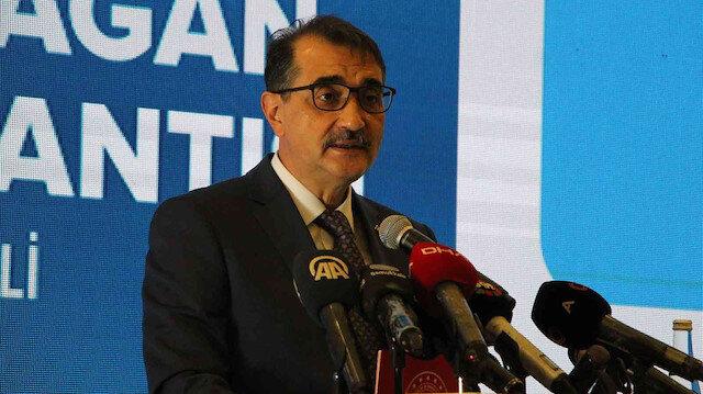 Enerji ve Tabii Kaynaklar Bakanı Fatih Dönmez: Yer altı doğal gaz depolarımızın 4'te 3'ünü doldurduk