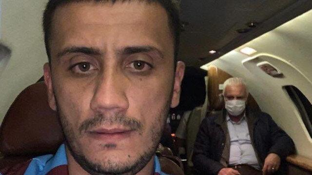 İyi Partili Koray Aydın Trabzon'a maç izlemeye özel jetle gitti