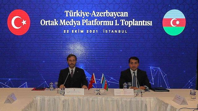Türkiye-Azerbaycan Ortak Medya Platformu'nun ilk toplantısı yapıldı: İki devlet ortak medya