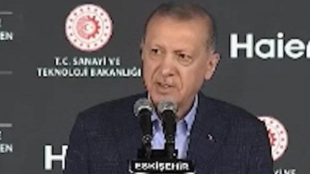 Cumhurbaşkanı Erdoğan: Bizim gündemimiz yatırımdır insanımıza hizmettir