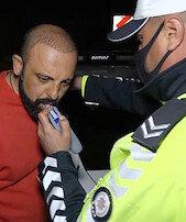 Alkollü sürücüdenpolise ilginç soru