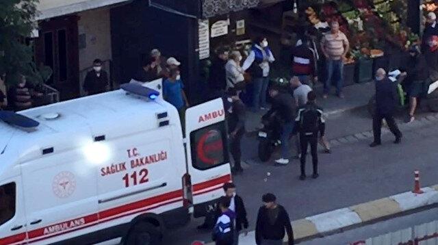 İstanbul'da akılalmaz kaza: Bir anda kanlar içinde yere yığıldı