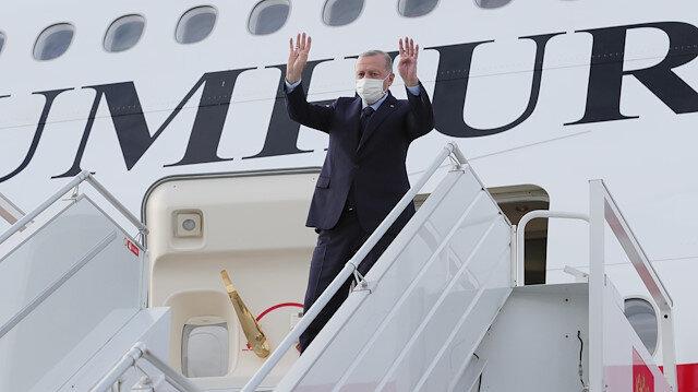 Cumhurbaşkanı Erdoğan son bir yılda üçüncü kez Azerbaycan'a gidiyor