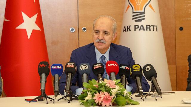 Numan Kurtulmuş'tan 10 büyükelçiye tepki: Türkiye hiç kimsenin parmak sallayarak konuşmasına müsaade etmez