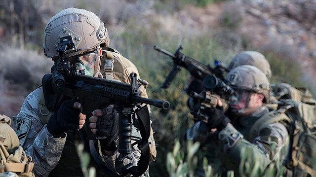 Bakan Soylu 'operasyon tamam' diyerek duyurdu: Biri gri kategoride 2 terörist etkisiz