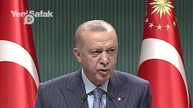 Cumhurbaşkanı Erdoğan Osman Kavala'nın serbest bırakılmasını isteyen büyükelçilere tepki: Amaçlarının hukuk takibi olmadığını biliyoruz