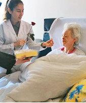 Engelliye yatılı şefkat