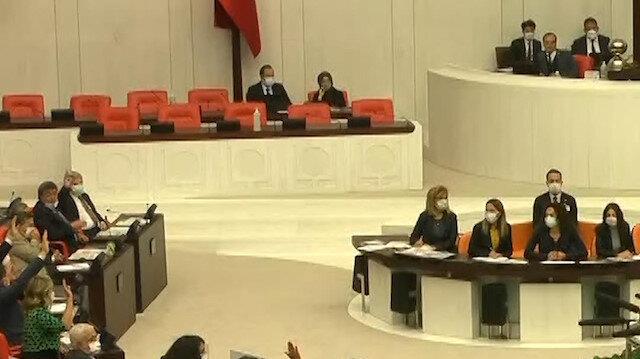 HDP'li Pervin Buldan tezkereye yanlışlıkla 'evet' dedi
