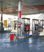 İranda benzin istasyonları felç oldu