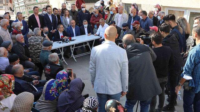 AK Partili Sürekli: Tapuları devredin, dönüşümü biz yapacağız