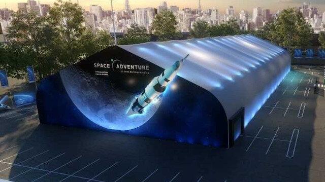 Uzay meraklılarına müjde: Dünyanın en büyük gezici sergisi 'NASA Space Adventure' İstanbul'a geliyor