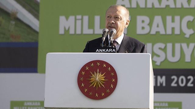 Cumhurbaşkanı Erdoğan AKM Millet Bahçesi'nin açılışında konuştu: 2023'ten sonra hiçbir engel tanımıyoruz