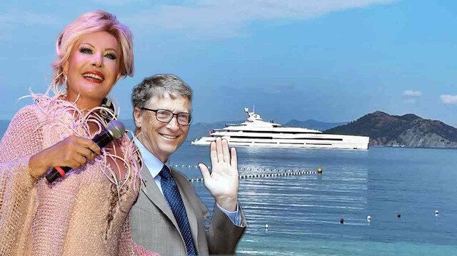 Emel Sayın'dan Bill Gates'e esprili gönderme: Hiç aklından geçirme, satılık değil!