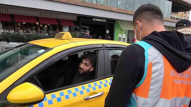 Yolcu seçen taksici kendini böyle savundu: Bana yazık değil mi?